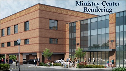 Click the image above to learn more about the Ministry Center